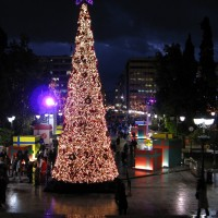 Syntagma - Christmas at Sintagma Square, Athens