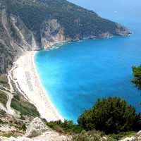 Myrtos - Myrtos beach in Kefallonia - 4.75 out of 5 - 20 votes